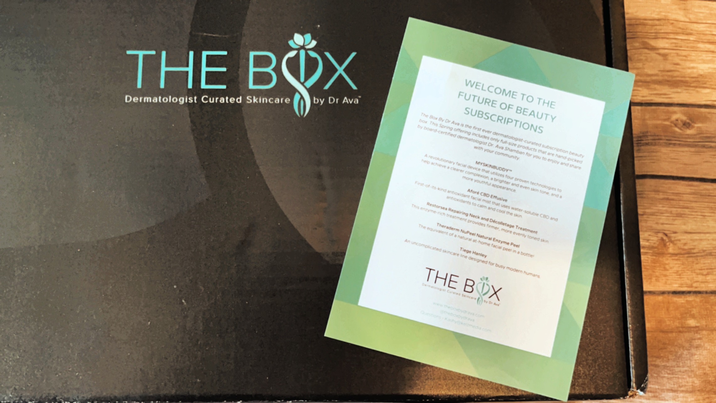 The Box by Dr. Ava: A Dermatologist-Curated Subscription Box